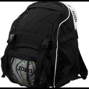Joma Diamond Black Soccer Backpack (NEW)